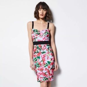 Milly for Design Nation Sheath Floral Scuba Dress